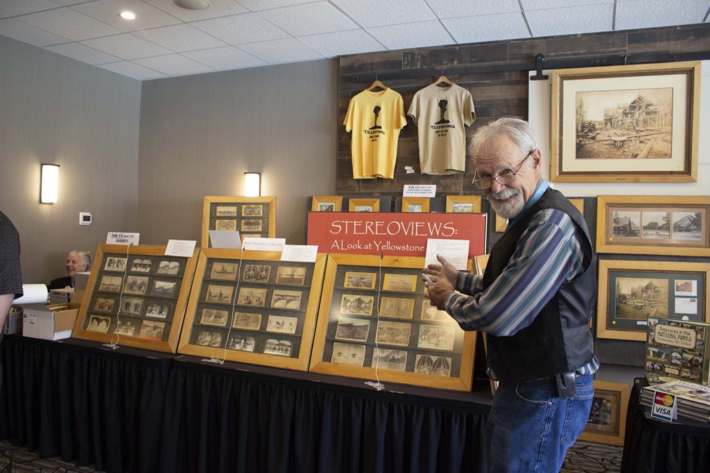 Stereoviews vendor from our 2019 Collecting Yellowstone Conference